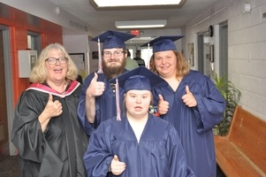 2019 graduates from COOR Ed Center