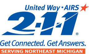 211 Northeast Michigan. Get connected. Get answers.